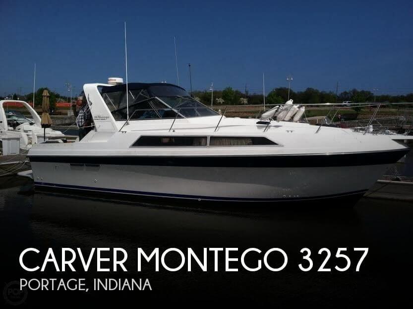 1988 Carver Montego 3257 For Sale