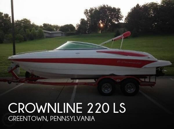 Used Crownline Deck Boats For Sale by owner | 2008 Crownline 220 LX