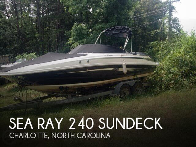 Used Sea Ray Boats For Sale in North Carolina by owner   2008 Sea Ray 24
