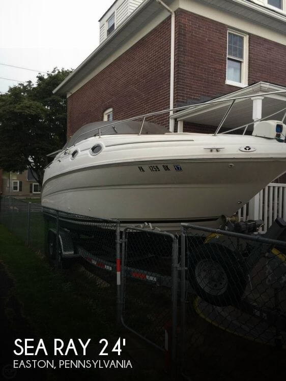 Used Boats For Sale in Scranton, Pennsylvania by owner | 2002 Sea Ray 26