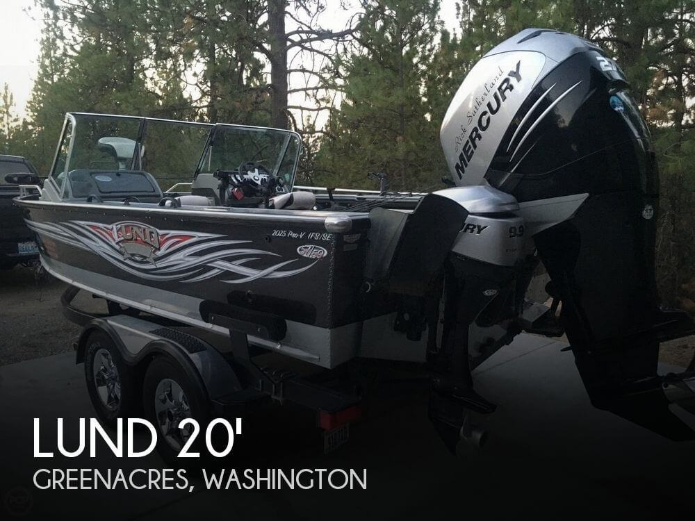 2007 LUND 2025 PRO V IFS/SE LIMITED EDITION for sale