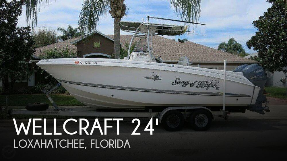 Used Wellcraft Boats For Sale in Florida by owner | 2005 Wellcraft 24