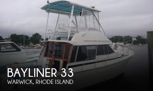 1987 Bayliner 33 - Photo #1