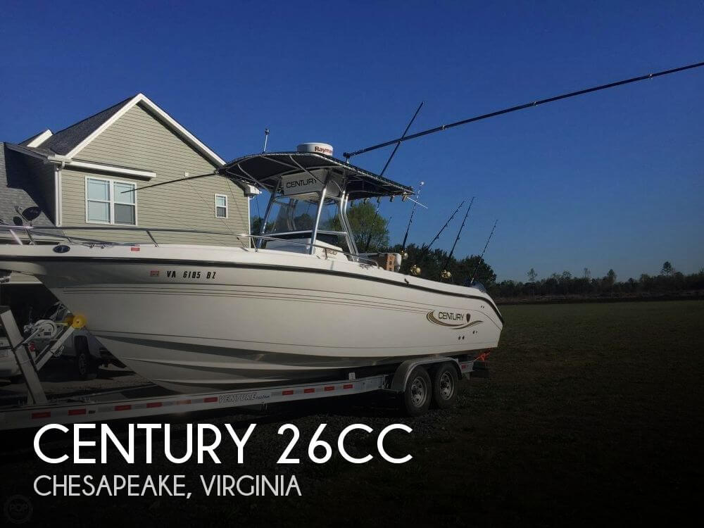 Used Century Boats For Sale by owner | 2006 Century 27