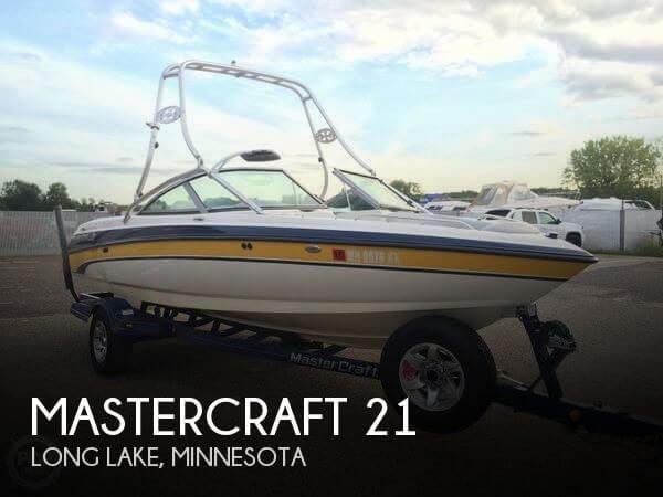 21 Foot Mastercraft 21 21 Foot Motor Boat In Orono Mn