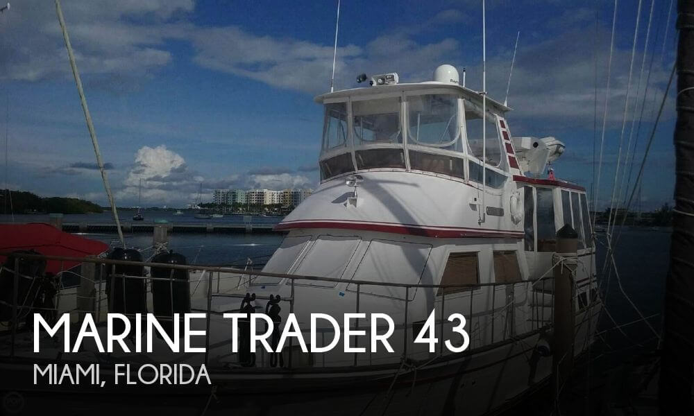 Used Marine Trader Boats For Sale by owner | 1984 Marine Trader 43