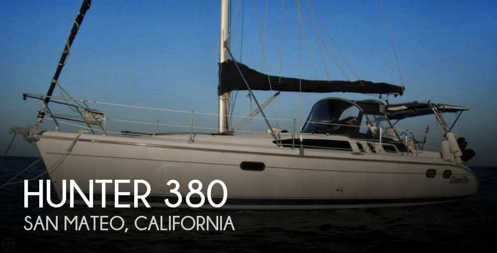 Used Hunter Sailboats For Sale in California by owner | 2001 Hunter 380