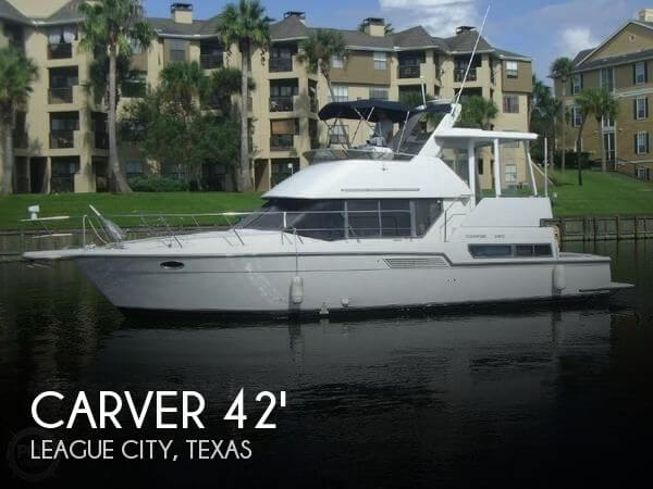 Used Carver 42 Boats For Sale by owner | 1995 Carver 42
