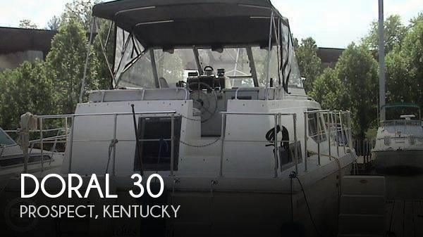 Used Boats For Sale in Kentucky by owner | 2000 Doral 30