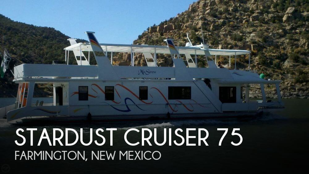 Used Houseboats For Sale by owner | 1990 Stardust Cruiser 70
