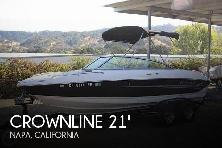 Used Crownline Boats For Sale in California by owner | 2004 Crownline 21