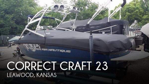 Used Boats For Sale in Kansas City, Missouri by owner | 2008 Correct Craft 23