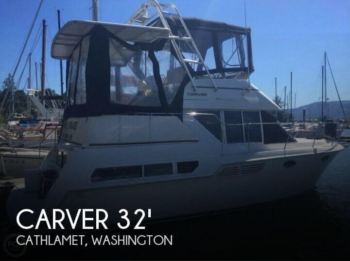 1998 CARVER 325 AFT CABIN for sale