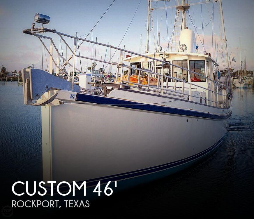 2009 CUSTOM 46 DIESEL DUCK for sale