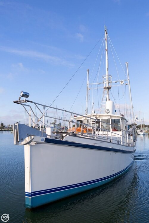 2009 Custom boat for sale, model of the boat is 46 Diesel Duck & Image # 18 of 40