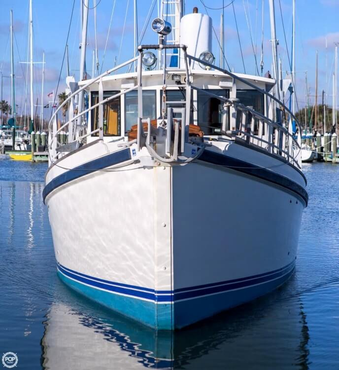 2009 Custom boat for sale, model of the boat is 46 Diesel Duck & Image # 21 of 40