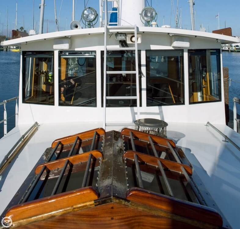 2009 Custom boat for sale, model of the boat is 46 Diesel Duck & Image # 23 of 40