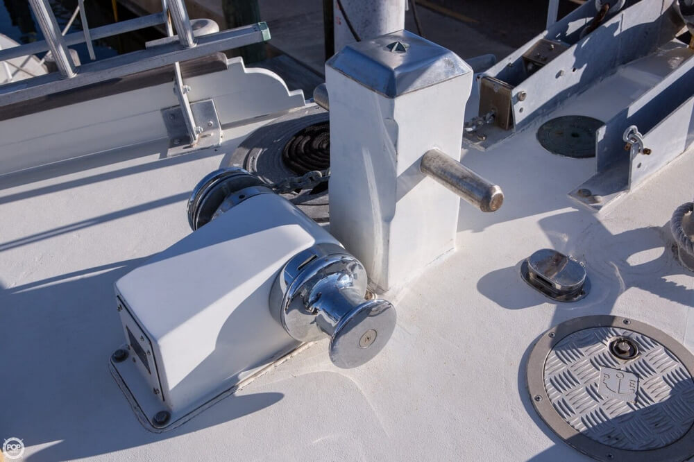 2009 Custom boat for sale, model of the boat is 46 Diesel Duck & Image # 24 of 40
