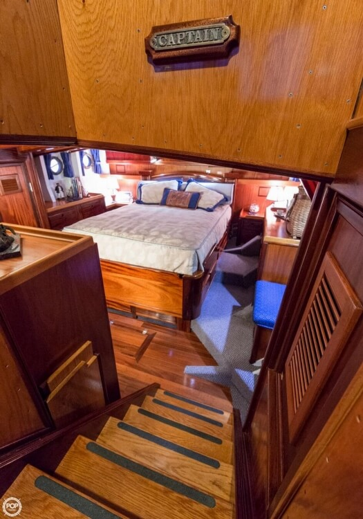 2009 Custom boat for sale, model of the boat is 46 Diesel Duck & Image # 8 of 40