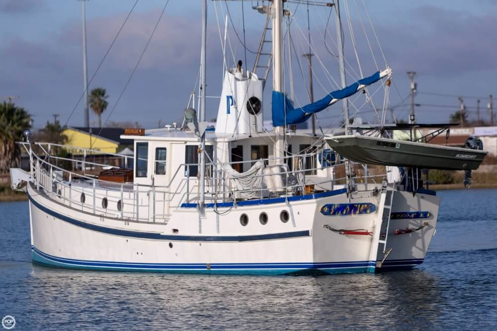 2009 Custom boat for sale, model of the boat is 46 Diesel Duck & Image # 13 of 40