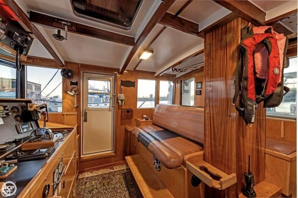 2009 Custom boat for sale, model of the boat is 46 Diesel Duck & Image # 40 of 40