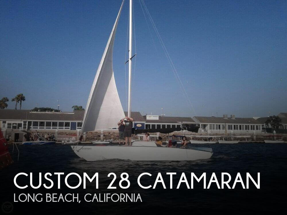2010 CUSTOM 28 CATAMARAN for sale
