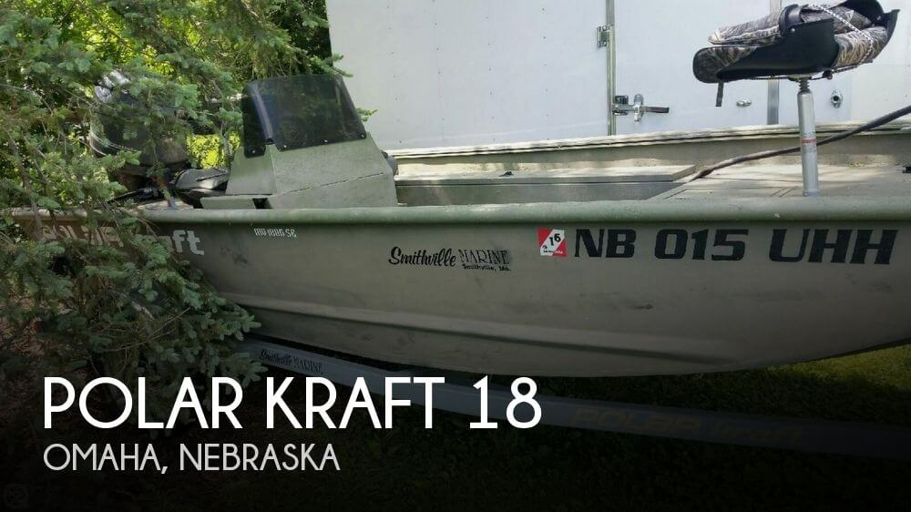 2008 POLAR KRAFT 18 for sale