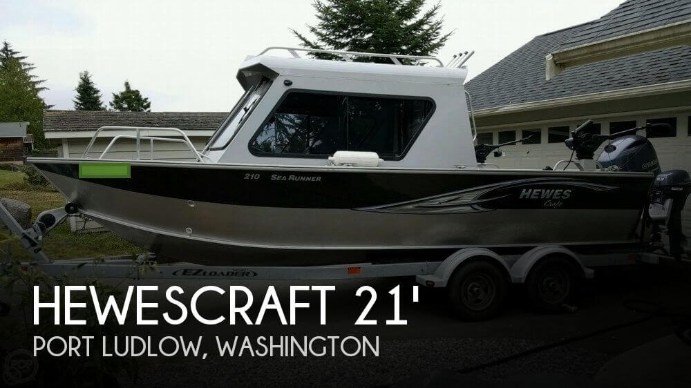 Used 2015 Hewescraft 210 Sea Runner For Sale