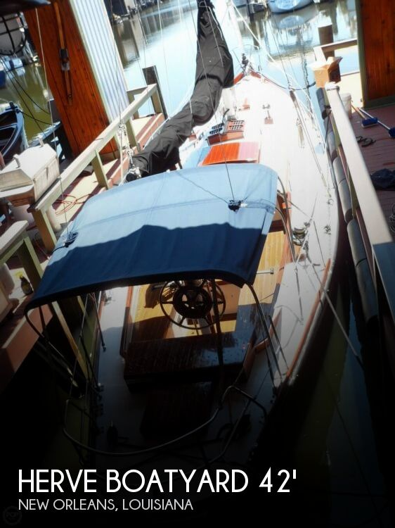 1962 Herve Boatyard boat for sale, model of the boat is 42 French Sloop Racer & Image # 1 of 40