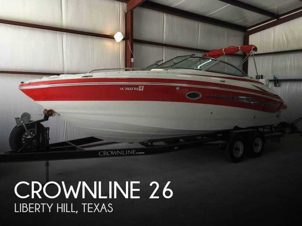 26 Foot Crownline 26 26 Foot Crownline Motor Boat In