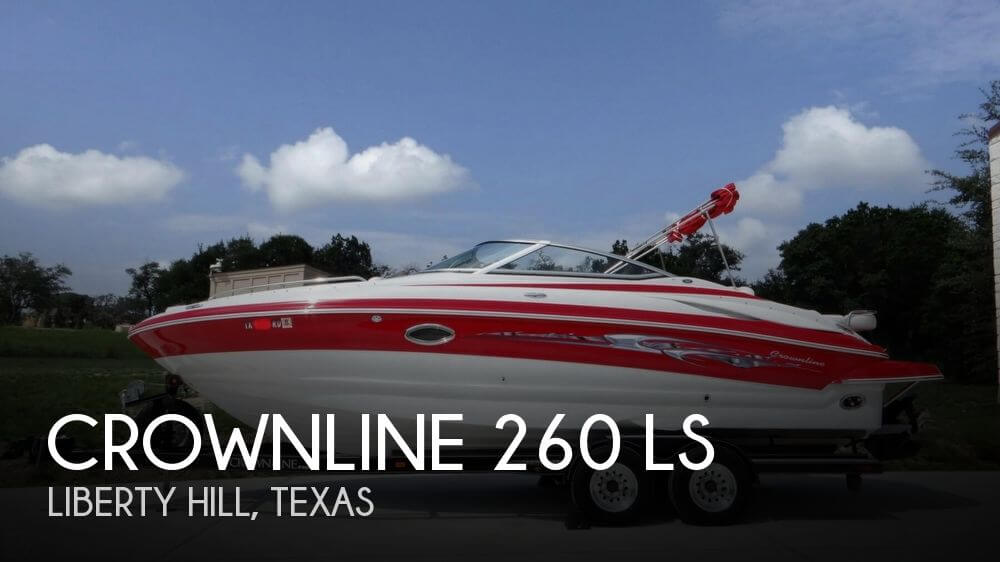 For sale used 2007 crownline 260 ls in liberty hill texas for Ski liberty cabin rentals