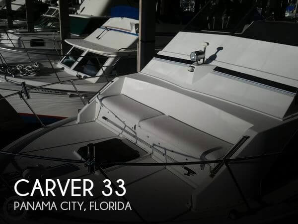 Used Carver Boats For Sale in Florida by owner | 1983 Carver 33
