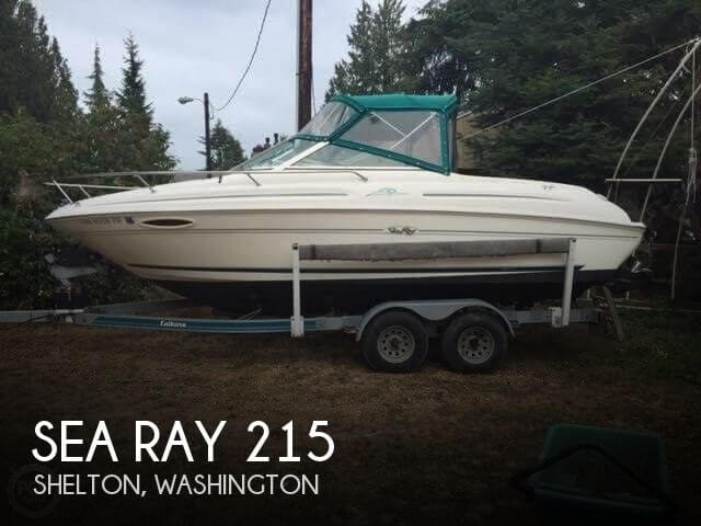 Used Sea Ray Boats For Sale in Washington by owner | 1997 Sea Ray 215