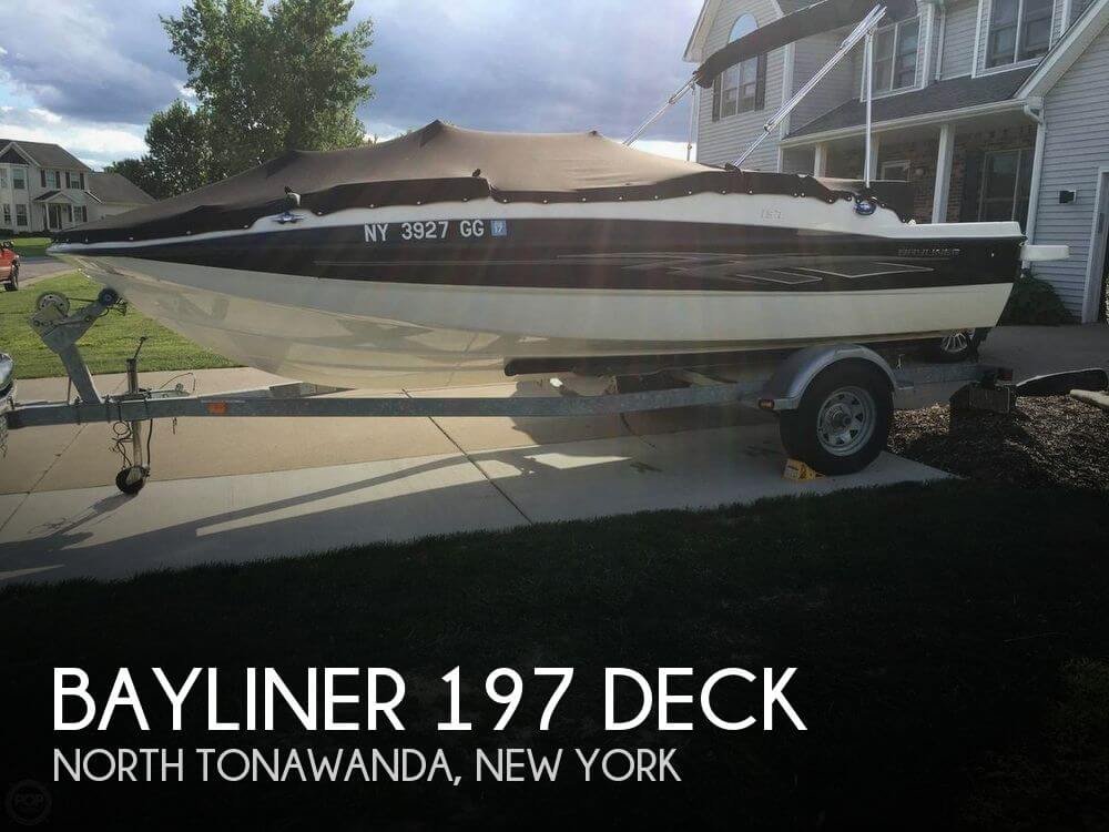 Used Deck Boats For Sale in New York by owner | 2012 Bayliner 18