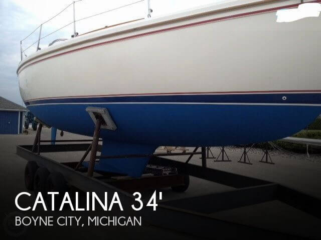Used Catalina Boats For Sale by owner | 1987 Catalina 34