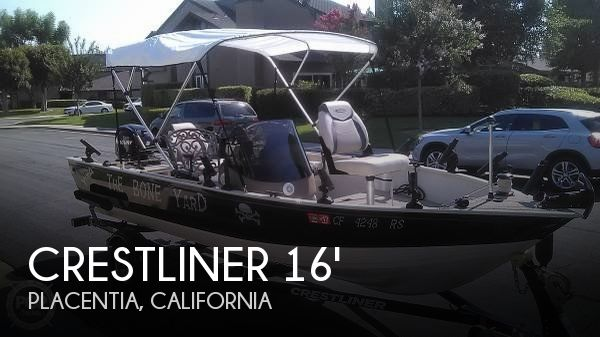 2013 CRESTLINER 16 KODIAK SC for sale