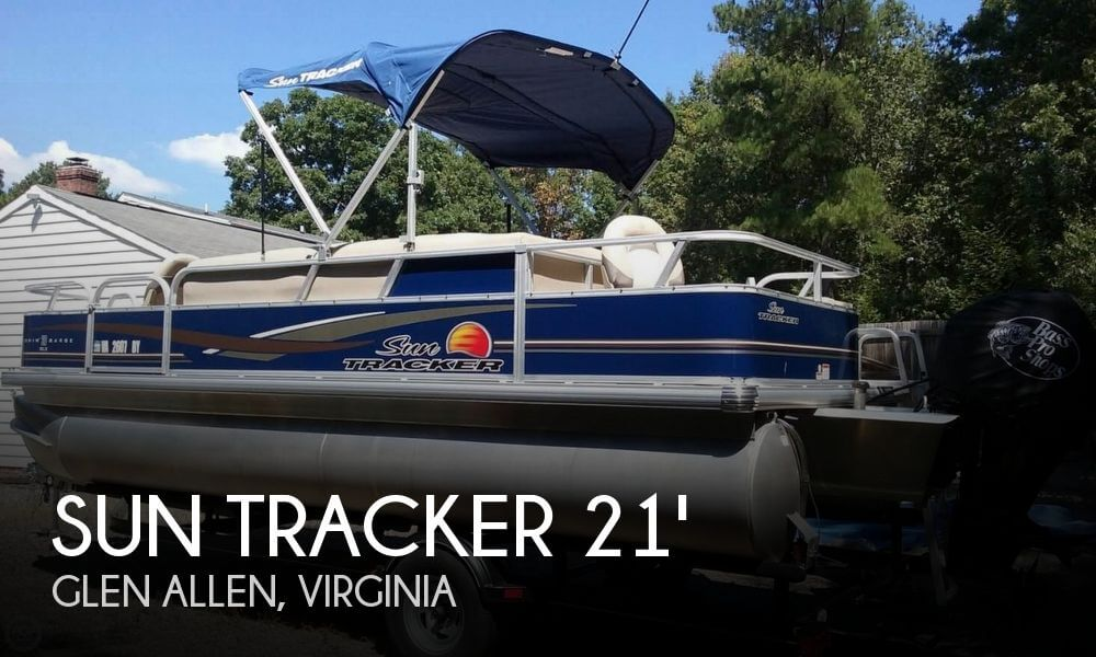 2014 Sun Tracker 20 Dlx Fishin' Barge