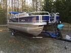 2014 Sun Tracker 20 DLX Fishin' Barge - #1