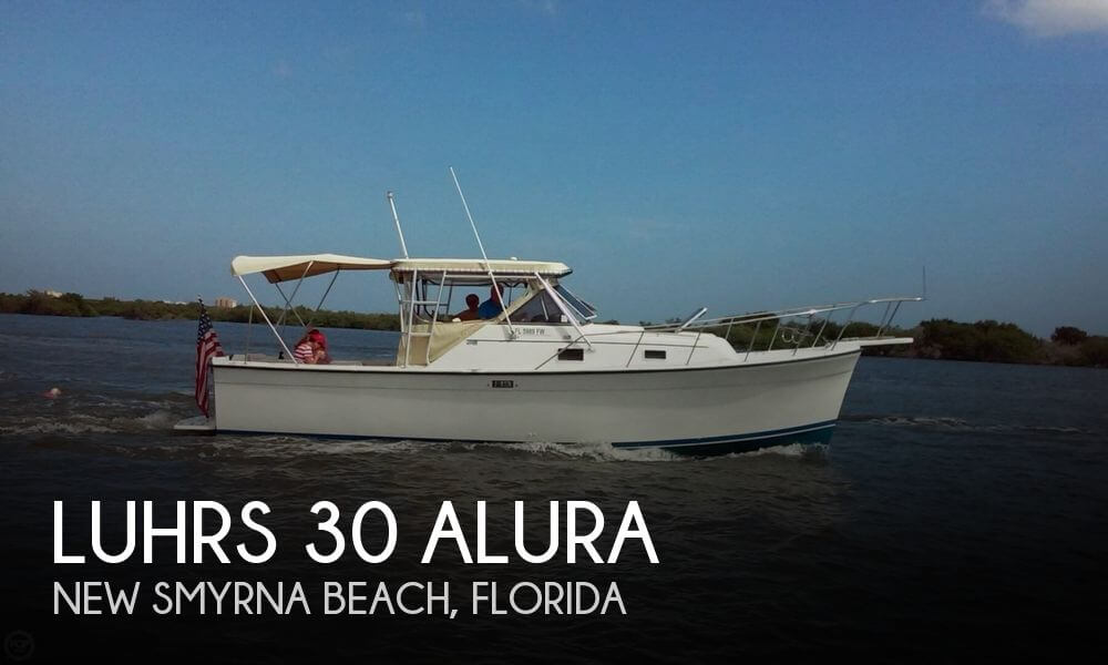 1987 Luhrs 30 - Photo #1