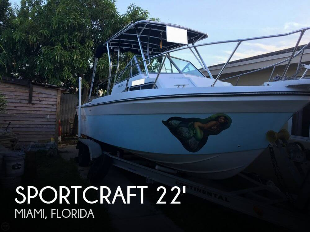 For Sale Used 1989 Sportcraft 222 Fishmaster Wac In Miami