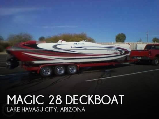 Used Deck Boats For Sale by owner | 2008 Magic 28