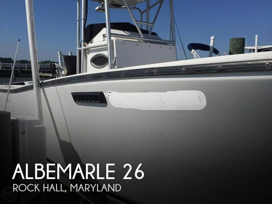 Used Albemarle Boats For Sale by owner | 1995 Albemarle 26