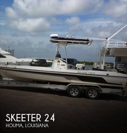 24 Foot Skeeter Motor Boat In Houma