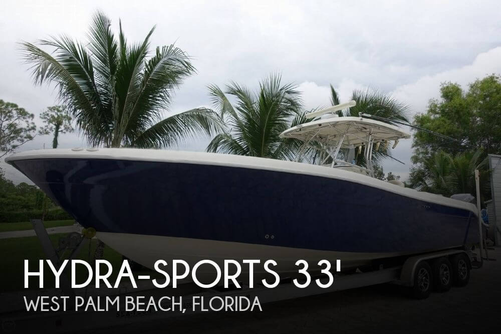 Hydra sports 3300 vector for sale in west palm beach fl for Deep sea fishing west palm beach