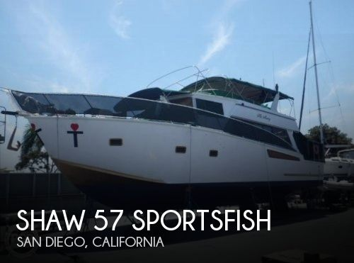 Used Boats For Sale in San Diego, California by owner | 1994 Shaw 57