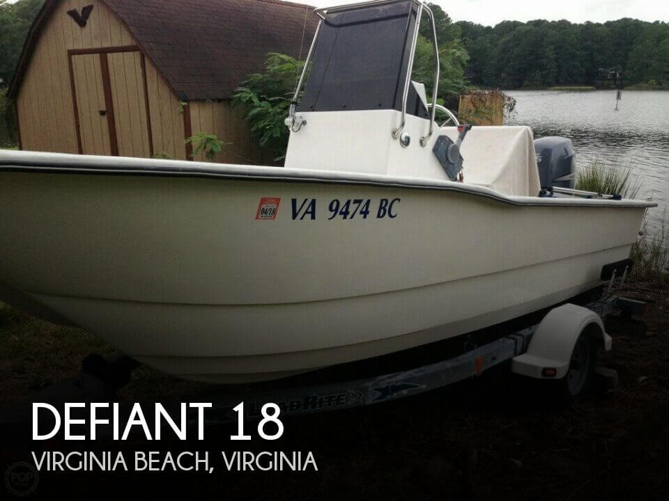 Used Defiant Boats For Sale by owner | 2003 Defiant 18
