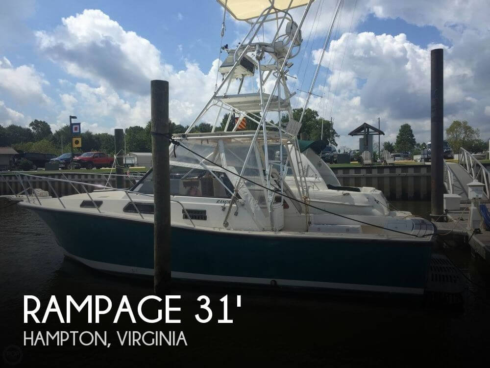 Used Rampage Boats For Sale by owner | 1986 Rampage 31