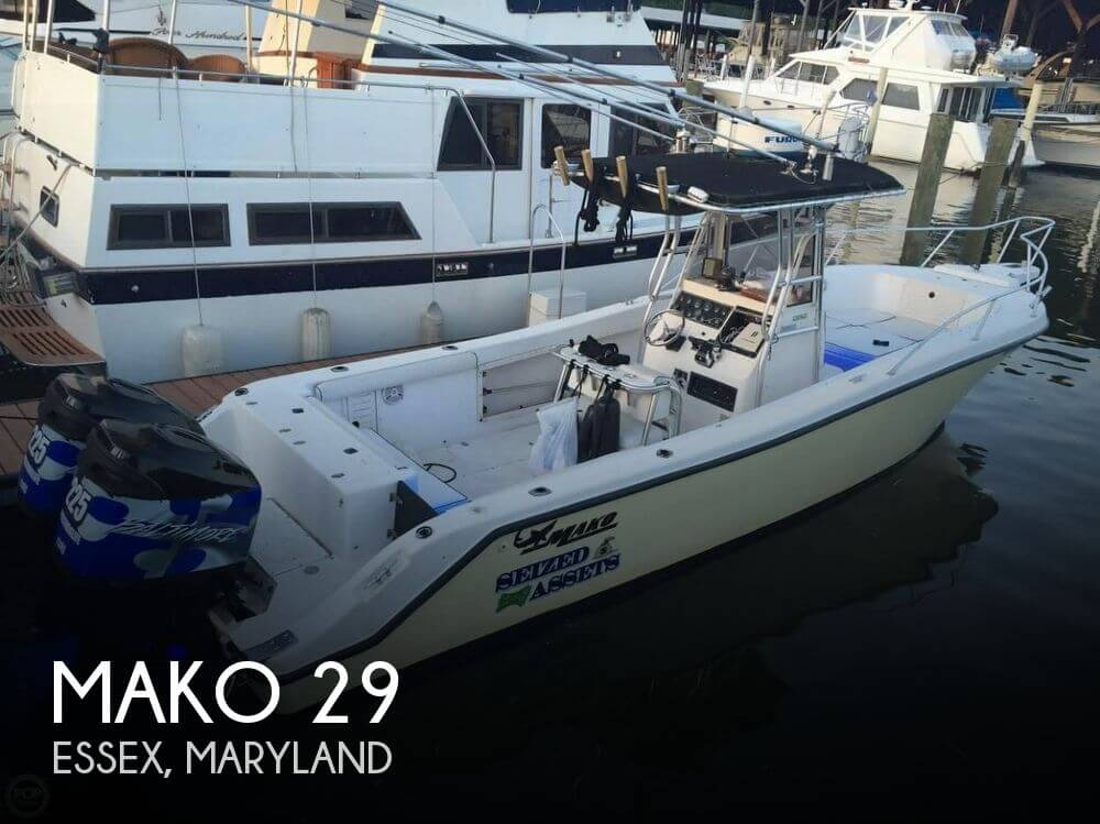 29 Foot Mako 29 29 Foot Mako Motor Boat In Baltimore Md