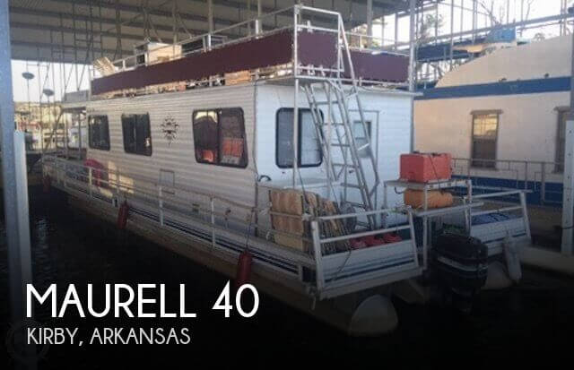 Used Houseboats For Sale in Arkansas by owner | 1990 Maurell 40