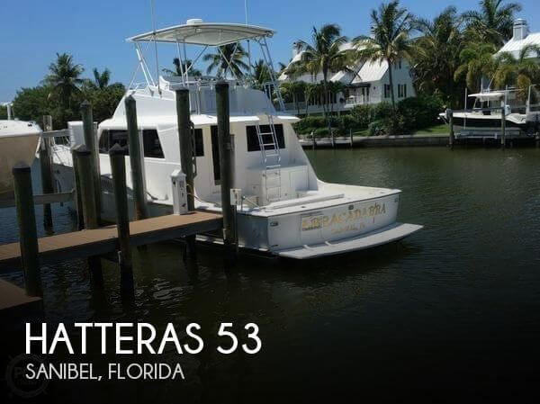 Used Boats For Sale in Naples, Florida by owner | 1978 Hatteras 53
